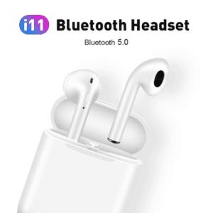 Univerzális Sztereo Bluetooth Headset töltőtokkal