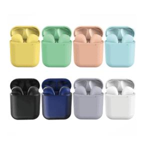 Színes Univerzális Bluetooth Headset töltőtokkal