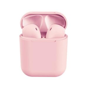 Színes Univerzális Bluetooth Headset töltőtokkal – Rózsaszín