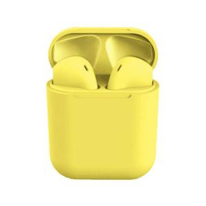 Vezeték nélküli fülhallgató – Sárga