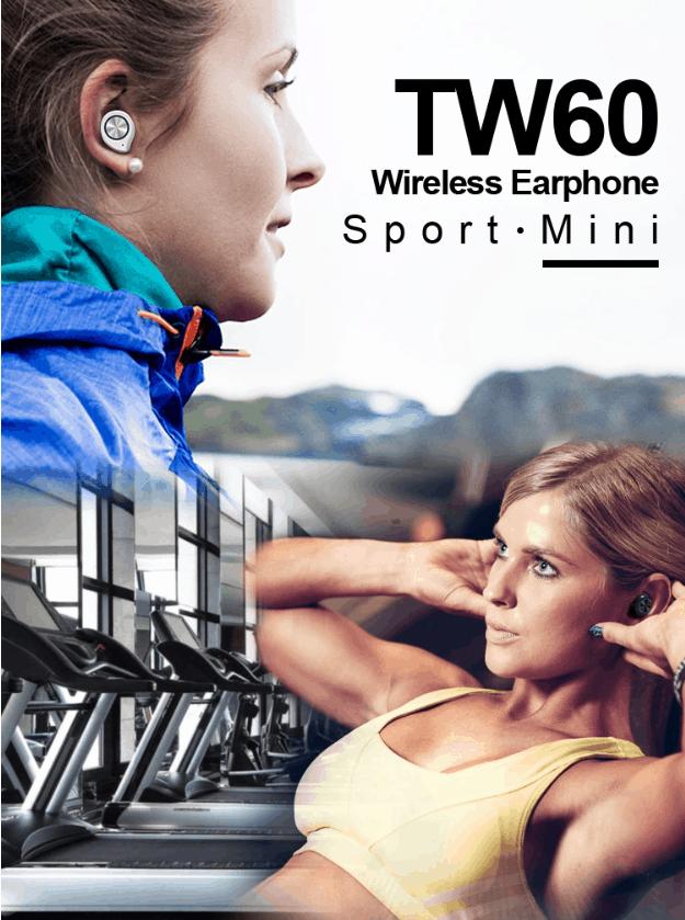 Earbuds Bluetooth Fülhallgató - sportoláshoz