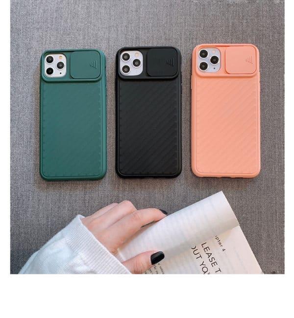 iphone 11 kameravédő telefontok phonebazis fekete rózsaszín