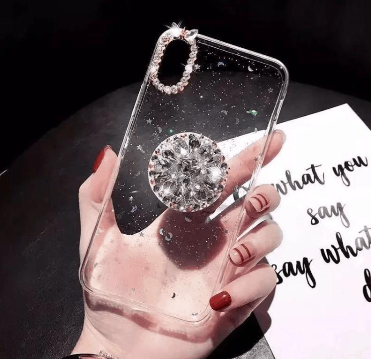 Gyémánt mintás telefontok