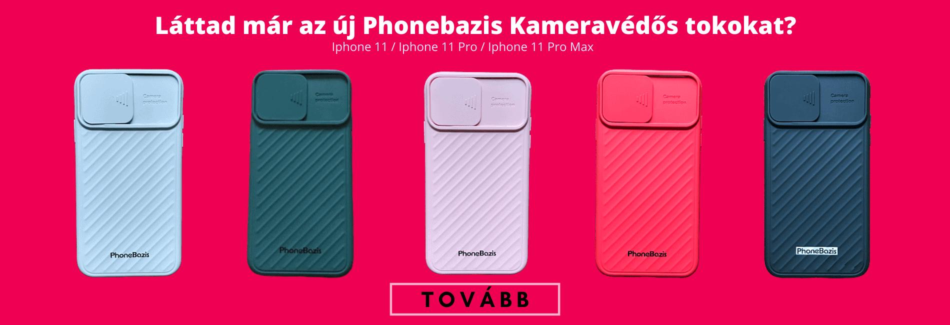 TPU Kameravédő telefontok