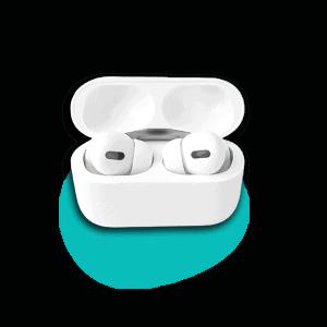 Színes Macaron Pro Headset – Fehér