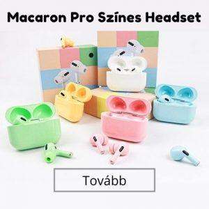 Színes headset