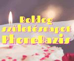 Az elmúlt 1 év. Boldog születésnapot PhoneBazis!
