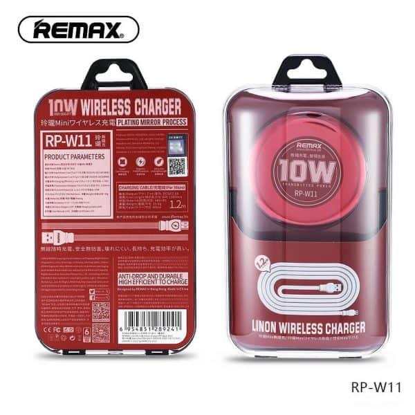Remax vezeték nélküli töltő csomagolásban