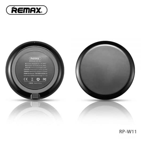 Remax vezeték nélküli töltő fekete