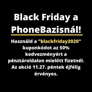 Black Friday a PhoneBazisnál mini