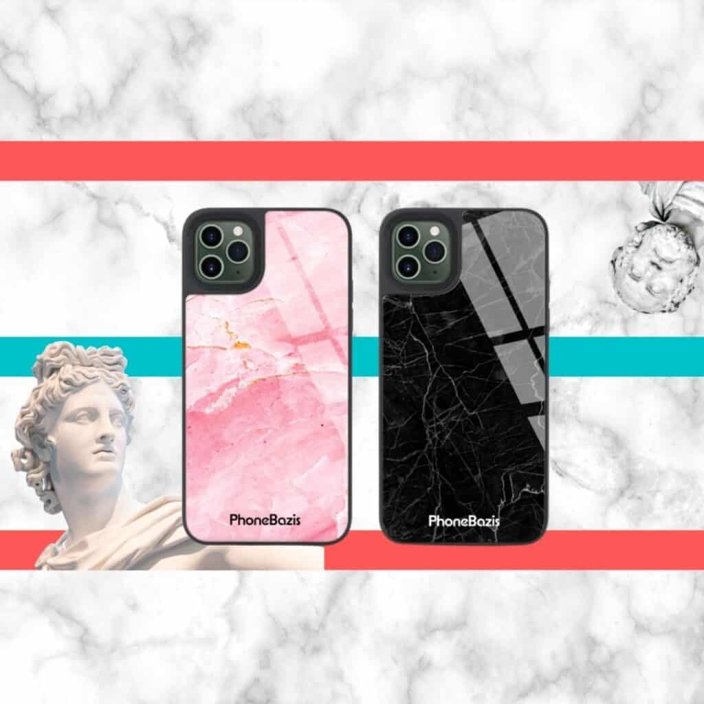 PhoneBazis Marble TPU telefontok