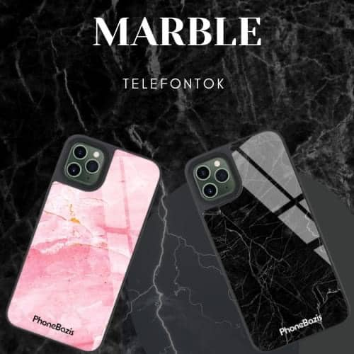 márványmintás telefontokok