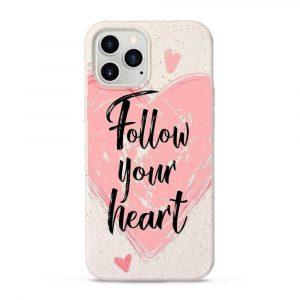 Follow your heart – Komposztálható telefontok