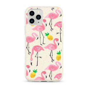 Rózsaszín Flamingók – Komposztálható telefontok