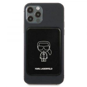 Karl Lagerfeld Magsafe powerbank 3000mAh fekete