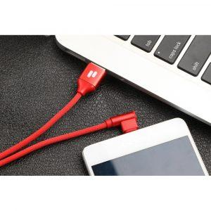 Puridea L23 USB Type C töltő 2.4A Piros